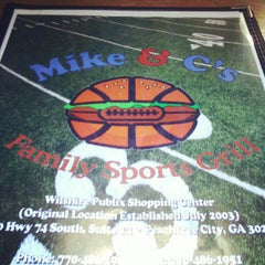 Photo taken at Mike & C's Family Sports Grill by Lisa H. on 6/14/2012