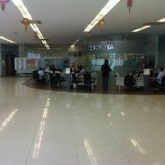 Photo taken at Toyota Service Center by Mohd Hanafi B. on 8/12/2012