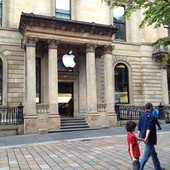 Photo taken at Apple Store, Buchanan Street by Daniel T. on 8/14/2012