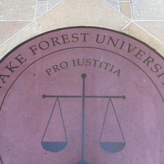 Photo taken at Wake Forest School of Law by William R. on 6/29/2012