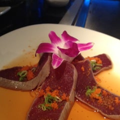 Photo taken at Wasabi Japanese Steakhouse by Ed R. on 6/19/2012