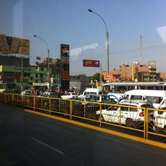 Photo taken at Estación Tomás Valle - Metropolitano by Evandro S. on 3/31/2012