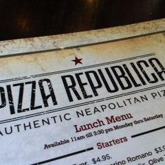 Photo taken at Pizza Republica by Sherri M. on 2/25/2012