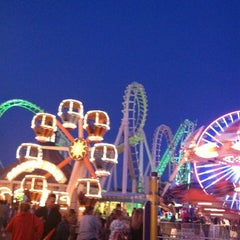 Photo taken at Wildwood Boardwalk by Christine S. on 5/26/2012