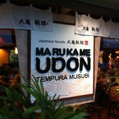 Photo taken at Marukame Udon by kowagari on 7/29/2012