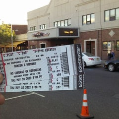 Photo taken at Bergen Performing Arts Center by Bryan Mayhem E. on 5/10/2012
