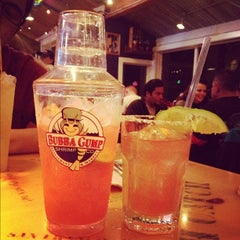 Photo taken at Bubba Gump Shrimp Co. by Tricia M. on 2/20/2012