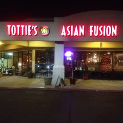 Photo taken at Tottie's Asian Fusion by Al M. on 1/8/2012