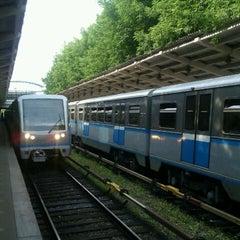 Photo taken at Метро Фили (metro Fili) by Серж П. on 6/23/2012