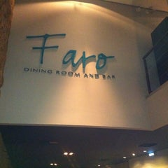 Photo taken at Faro Dining Room & Bar by Edson N. on 2/15/2012