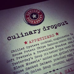 Photo taken at Culinary Dropout by Angie L. on 12/11/2011