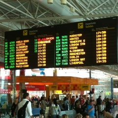 Photo taken at Aeropuerto de Fuerteventura (FUE) by Javier F. on 1/14/2012