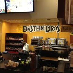 Photo taken at Einstein Bros. Bagel by Jose D V. on 2/29/2012