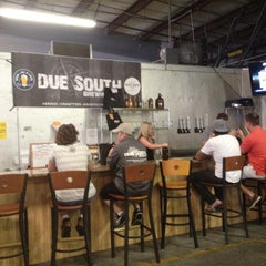 Photo taken at Due South Brewing Co. by Howard K. on 8/25/2012