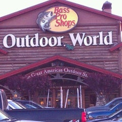 Photo taken at Bass Pro Shops by Kela M. on 4/6/2012