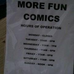 Photo taken at More Fun Comics by Gage H. on 12/12/2011