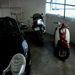 Photo taken at lonely bella the scooter at new job by Erin T. on 5/4/2012