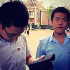 Photo taken at วัดระฆัง คณะ ๑ by Sarawut S. on 2/5/2012