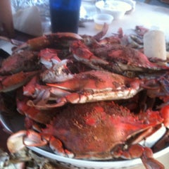 Photo taken at Waterman's Crab House by Jill C. on 8/17/2011