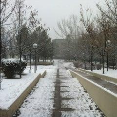 Photo taken at Bilkent Üniversitesi by Fatih Ş. on 1/10/2012