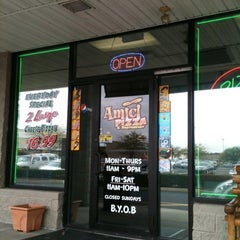 Photo taken at Amici Pizza & Restaurant by Don G. on 10/3/2011