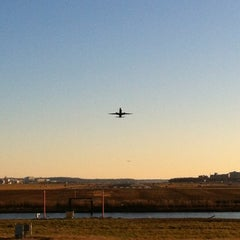 Photo taken at Gravelly Point Park by Aaron S. on 1/15/2012