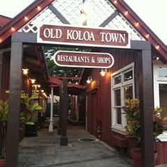 Photo taken at Old Koloa Town by Dan S. on 7/11/2011