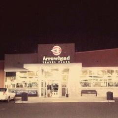 Photo taken at Arrowhead Travel Plaza by Blake C. on 1/7/2012