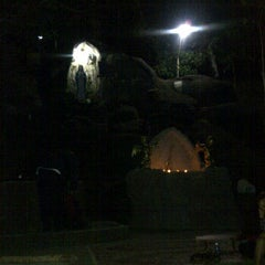 Photo taken at Gua Maria Tawangmangu by Yosie E. on 8/30/2011