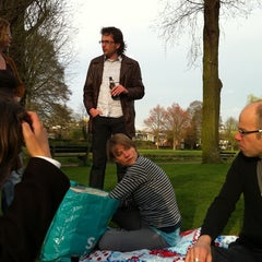 Photo taken at Lodewijk Napoleonplantsoen by Nanda S. on 4/15/2011