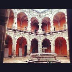 Photo taken at Museo de Arte de Queretaro by Julio O. on 2/15/2012