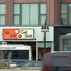 Photo taken at Hot Woks Cool Sushi by eva b. on 1/9/2012