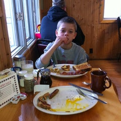 Photo taken at Log Cabin Restaurant by Gary M. on 3/3/2012