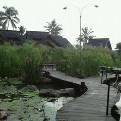 Photo taken at Kampung Sumber Alam by Leo L B. on 1/20/2012