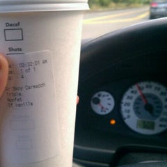 Photo taken at Starbucks by Andrea G. on 9/23/2011