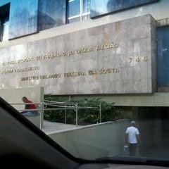 Photo taken at Tribunal Regional do Trabalho da 8ª Região by Roberto N. on 6/22/2012