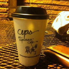 Photo taken at Cups, an Espresso Café by Joshua G. on 11/28/2011