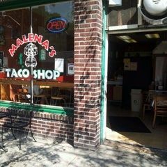 Photo taken at Malena's Taco Shop by Adam C. on 8/10/2012