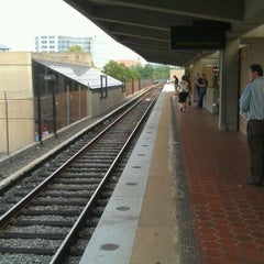 Photo taken at Rockville Metro Station by Aaron A. on 8/26/2011