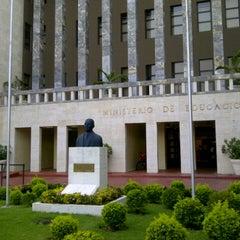 Photo taken at Ministerio de Educación de la República Dominicana (MINERD) by Andres G. on 7/11/2012
