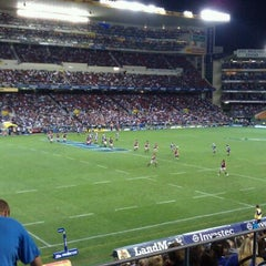 Photo taken at Newlands Rugby Stadium by Nic A. on 3/11/2011