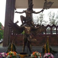 Photo taken at วัดศาลาลอย by TEE P. on 4/6/2012