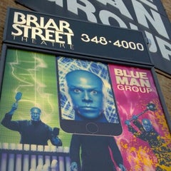 Photo taken at Blue Man Group at the Briar Street Theatre by Vinci F. on 12/7/2011