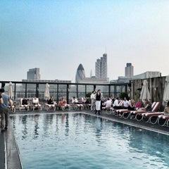Photo taken at Shoreditch House by Pascal R. on 5/23/2012