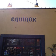 Photo taken at Equinox Restaurant & Bar by Hannah S. on 3/25/2012