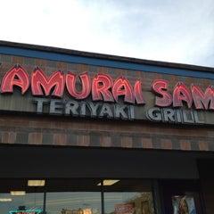 Photo taken at Samurai Sam's Teriyaki Grill by Carl G. on 1/9/2012