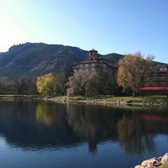 Photo taken at The Broadmoor by Ashley M. on 11/14/2011
