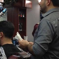 Photo taken at Clinton Street Barbershop by Ed W. on 1/8/2012