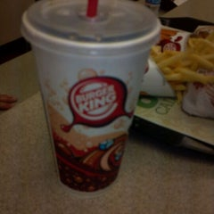 Photo taken at Burger King® by Zach O. on 9/10/2011