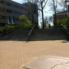 Photo taken at The University of Akron by Cassidy H. on 3/27/2012